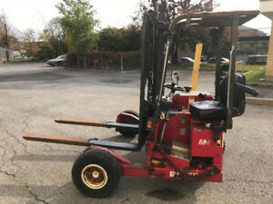 Chariot élévateur MOFFETT M3 2006 Forklift