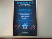 Home FX Renovations & Home Analysis Services