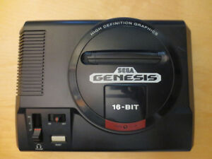 Sega Genesis Model 1 (VA3) with Games