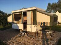 Conway Tardis Folding Caravan/Trailer Tent
