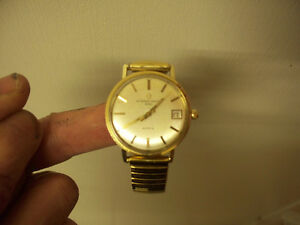 Vintage 14K Gold Filled Birks Eterna-Matic 2000 Swiss Watch 1971