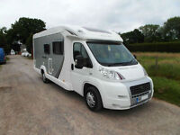 Swift Bolero 680FB 2007 Fixed rear bed