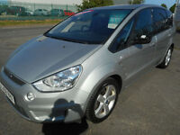FORD SMAX TITANIUM DIESEL 5 DOOR MANUAL 7 SEATER