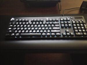 Logitech G610 Cherry MX Brown Keyboard - White LED