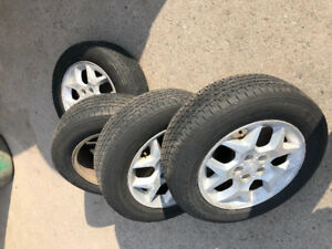 Tires with Rims for Sale