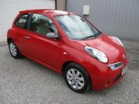 2009 Nissan Micra 1.5 dCi 86 25 3dr diesel, £30 pyear road tax 3 door Hatchb...