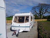 2002 Abbey 520s Safari Touring Caravan