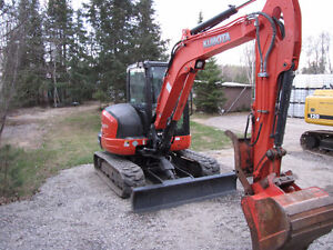 One owner Kubota Kx 057-4 excavator low hrs