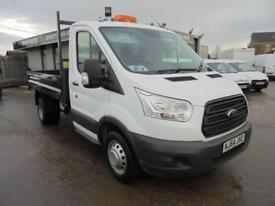 Ford Transit 2.2 Tdci 100Ps Chassis Cab DIESEL MANUAL WHITE (2014)
