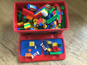 Huge box of Lego Duplo!