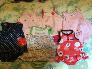 3-6 month Baby girl dresses - carters