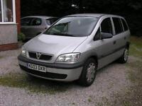 Vauxhall Zafira 1.6i 16v 2003.5MY Club