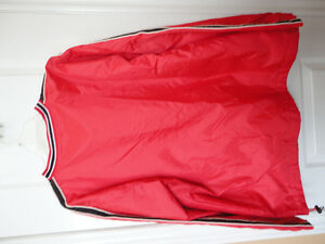 Steve and Barry's red fleece lined winter jacket hockey clothing London Ontario image 4