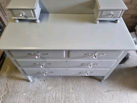Up cycled grey dresser