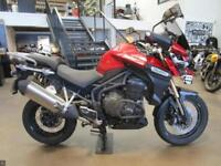 2014 TRIUMPH EXPLORER SPOKE RED 1 OWNER 14309 MILES