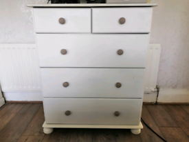 Upcycled Pine Drawers & 2 Side Tables