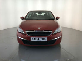 2014 64 PEUGEOT 308 ACTIVE SW HDI DIESEL 1 OWNER SERVICE HISTORY FINANCE PX