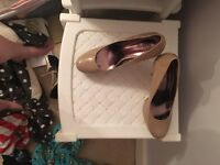 Nude shoes size 7