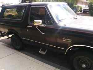 1989 Bronco -  Reduced! - open to trades