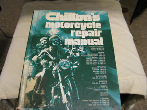 MotorCycle Manual Chiltons 1238 pages
