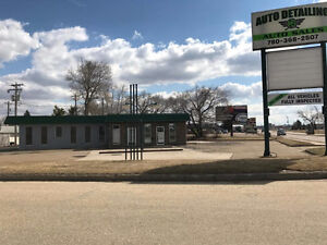 Wetaskiwin Auto Mile Commercial Location Available For Lease