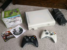 Xbox 360 console with games - HDMI - 60gb