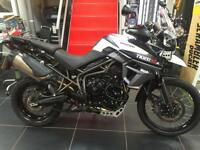 TRIUMPH TIGER 800 XCX ONLY 5400 MILES AND 2 OWNERS VERY CLEAN BIKE