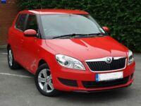 Skoda Fabia SE (red) 2012 **LOW MILAGE** Full service history
