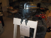 1953 Evinrude 7.5 vintage outboard Show condition