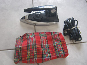 Charlescraft travel iron or student away from home