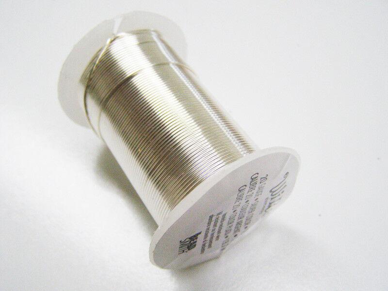 0.8mm 99.99/% Pure Silver Round Wire Dead Soft Craft /& Jewellery Wire 1m 20ga