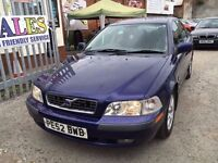 VOLVO S40 DIESEL MANUAL SALOON 2002