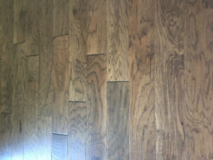 Box of engineered hickory hardwood for sale