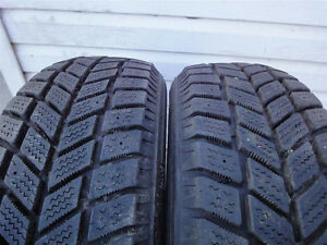 205/60R16 Set of 2 Hankook used winter FREEInst.&Bal.70%tread