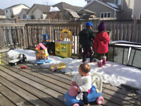 East end/Greenwood Park Home daycare