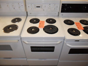 White Apartment Size Stove