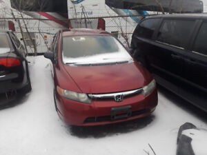 2006 Honda Civic Full partout!!
