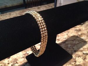 10kt Italian Yellow Gold Moon Bracelet APPRAISED @ 3,100