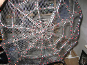 SPIDERMAN WEB RED L.E.D. LIGHTS Cambridge Kitchener Area image 1