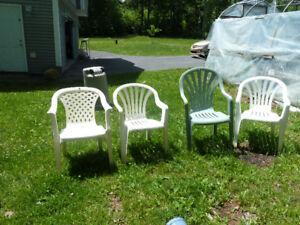 Plastic Chairs (Firepit) Deck