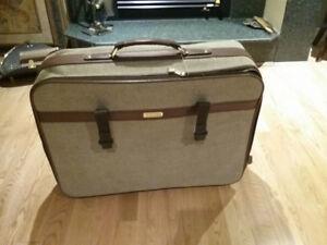 Valise et valise pour robes et costumes
