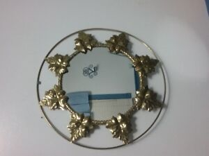 "Antique Brass 15"" diam. Mirror for sale"