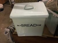 Powder blue colour Bread bin