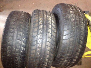 3 PRIME WELL TIRES 25.00 EACH 225/60 R16