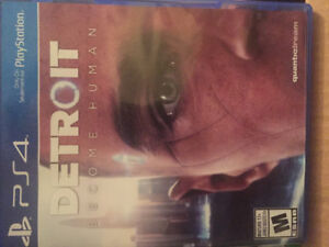 Detroit become human PS4 Game for sale