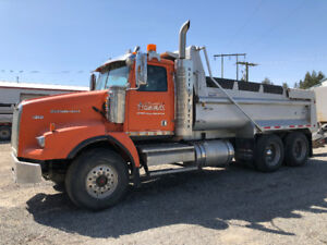 2009 Westernstar Gravel Truck and Tri Pup