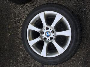 Roues BMW avec pneus hiver neuf