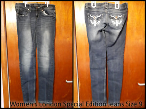 Women's London Special Edition Jeans Size 9