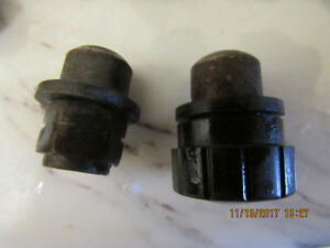 Original classic Mini Lug nuts covers,