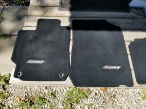 Toyota Camry Carpet Mats and Cargo Net